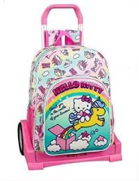 Mochila Escolar Hello Kitty