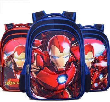 Mochila Escolar Iron Man